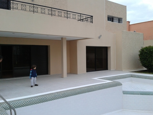 Villa-House for Rental in rabat 35.000 DH