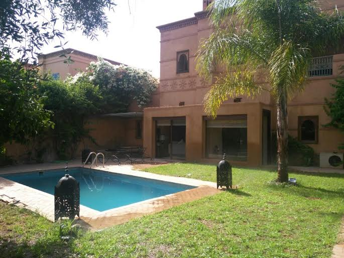Villa-Maison en Location à marrakech 25.000 DH