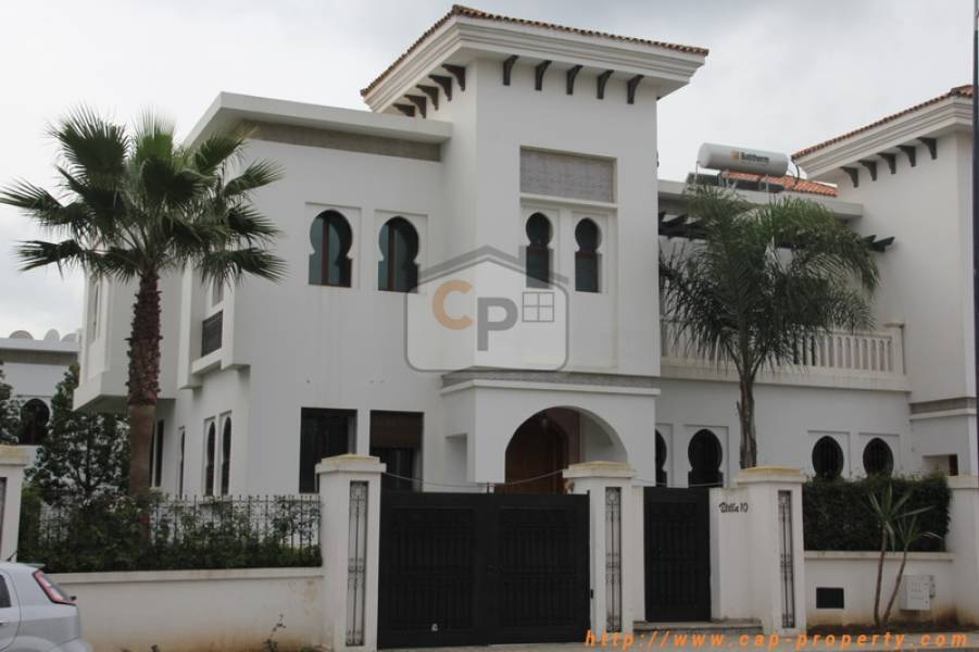Villa-House for Rental in tangier 20.000 DH