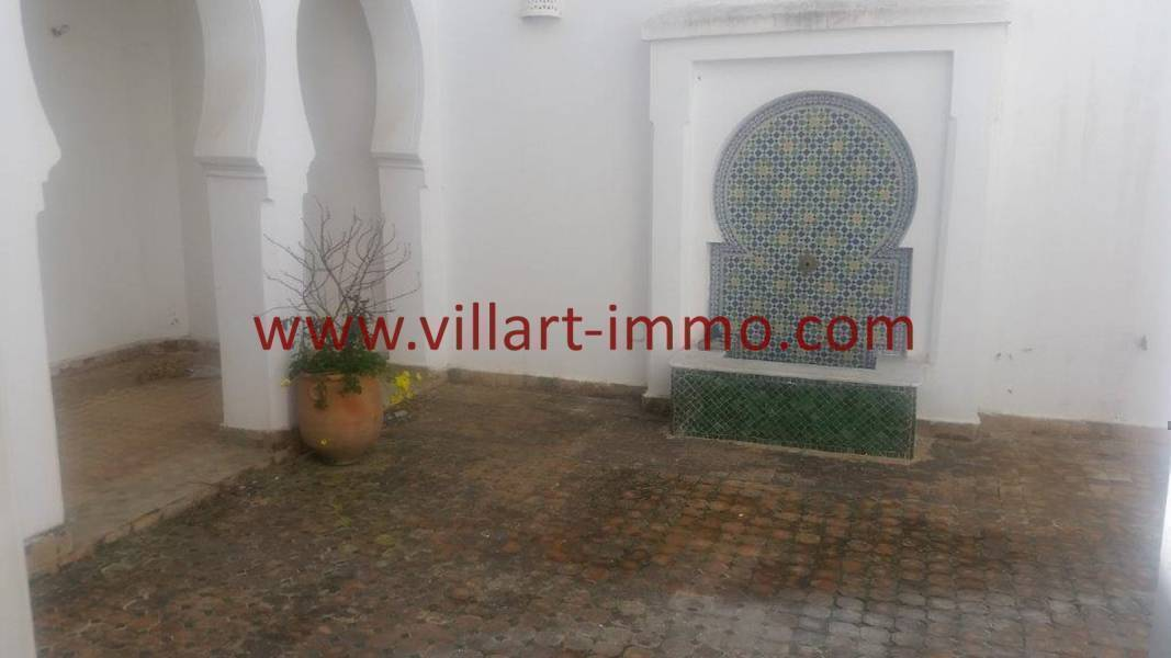 Villartimmo-5-Location-Tanger-Riad-Non-meuble-Patio-LV1030-Villart