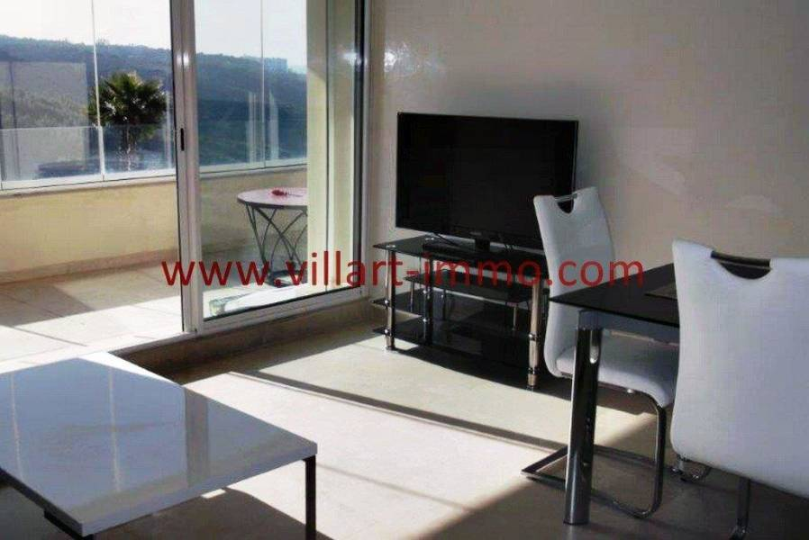 Villartimmo-7-Location-Appartement-F3-Meuble-Tanger-Salon-TV-L1114-Villart-immo